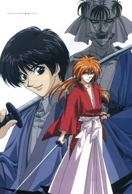 Kenshin Himura, var Sojiro, Makoto Mr. Salts anime-6831