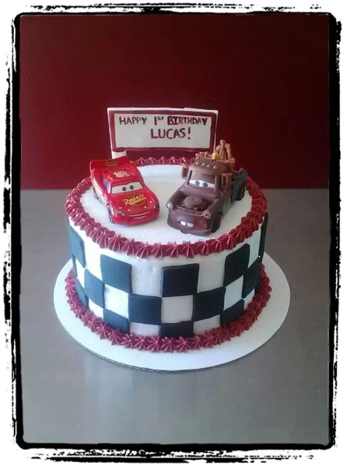 Disney Cars Smash Cake By Edible Delectable S By Kristine
