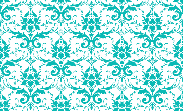 tiffany damask Tiffany Blue Damask clip art vector