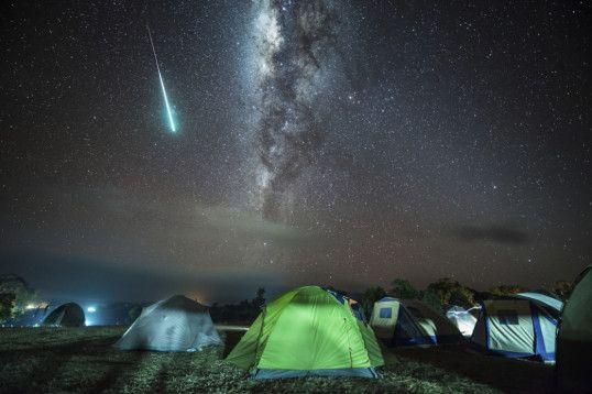 Afrika Camping- Sternenhimmel