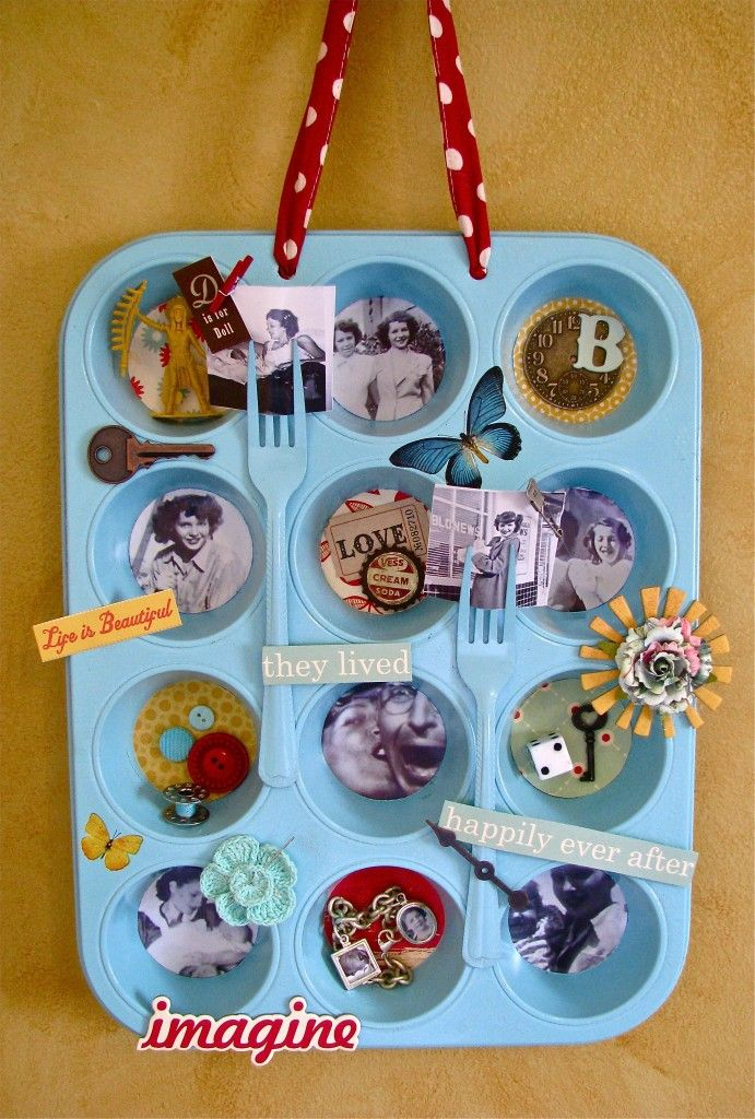 This Altered Muffin Tin Is An Inexpensive Project That