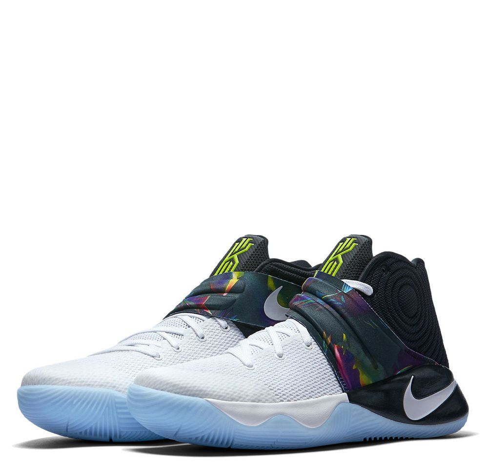 sports shoes 37adb 61050 Nike Kyrie 2 Parade Mens Basketball Shoes 15 White Black Volt 819583 110   Nike  BasketballShoes