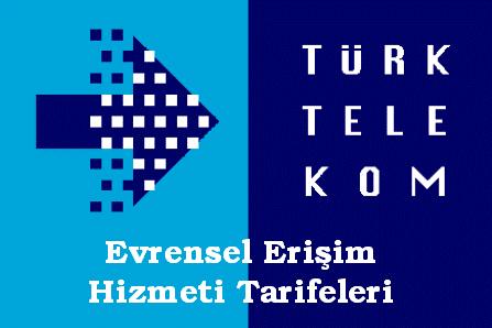 Turk Telekom Evrensel Erisim Hizmeti Tarifeleri O Bir Site Gap Is Basvurusu Teknoloji
