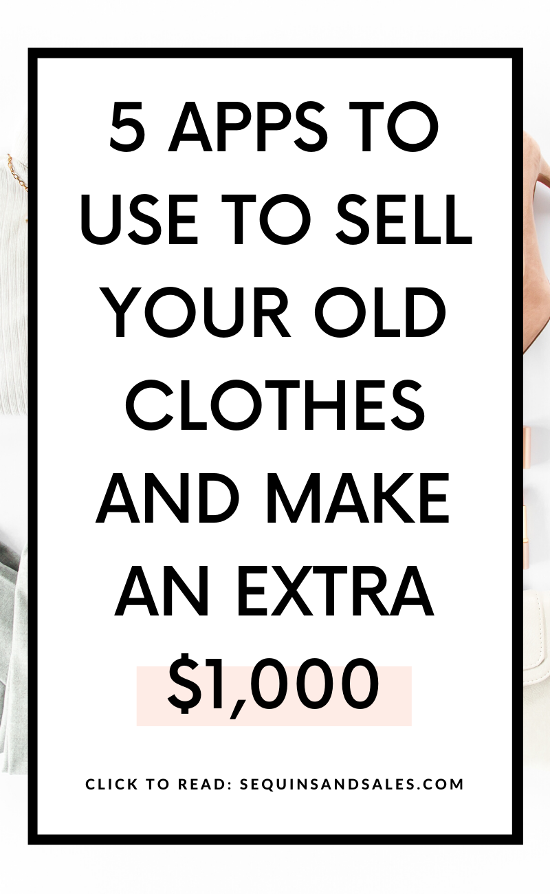 5 Apps to Use to Sell Your Old Clothes and Make an Extra