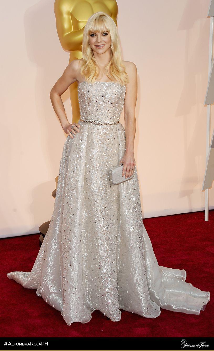 Anna Faris - Zuhair Murad - El Palacio de Hierro - #AlfombraRojaPH #Oscars2015