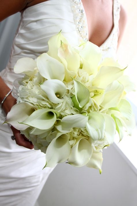 Bridal Bouquets Calla Lilies And Hydrangeas : Yes times wedding flowers