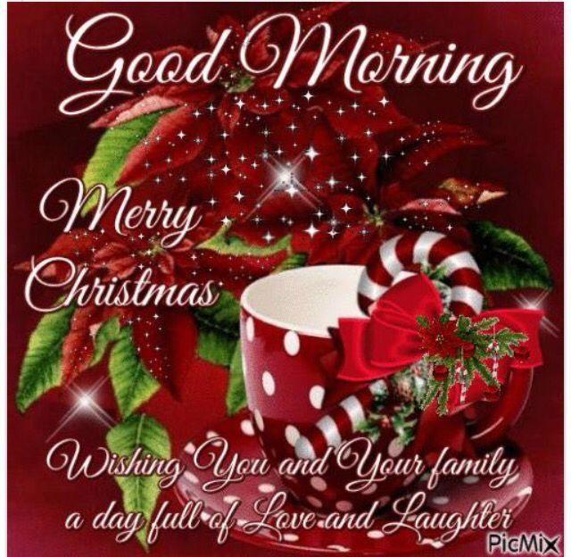 Good Morning N Merry Christmas Ladies