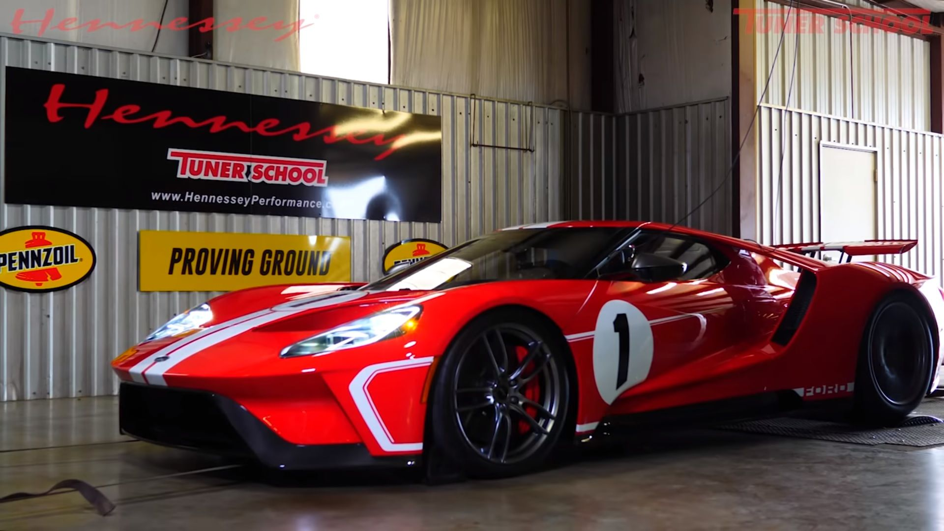 What Hennessey Performance Put A Stock Ford Gt Heritage Edition
