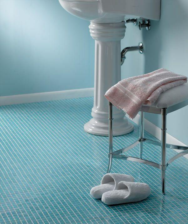 Badezimmer fliesen mosaik türkis  Bad-Detail mit Türkis-Mosaik | Türkis - Erfrischung für heiße ...