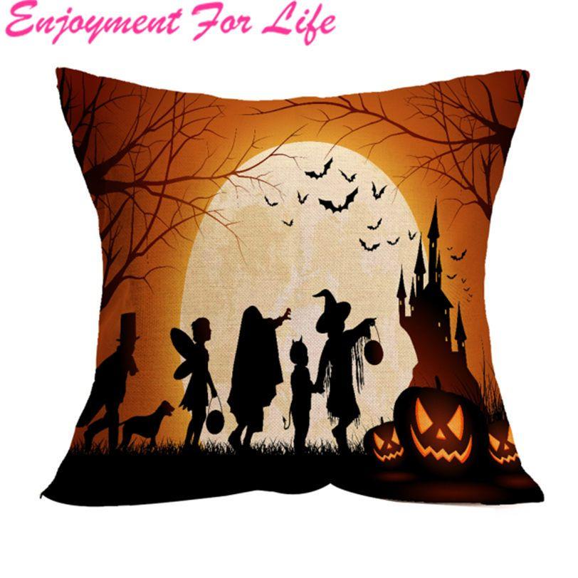 New Arrival High Quality Hot Sale Halloween Pillow Case Sofa Waist