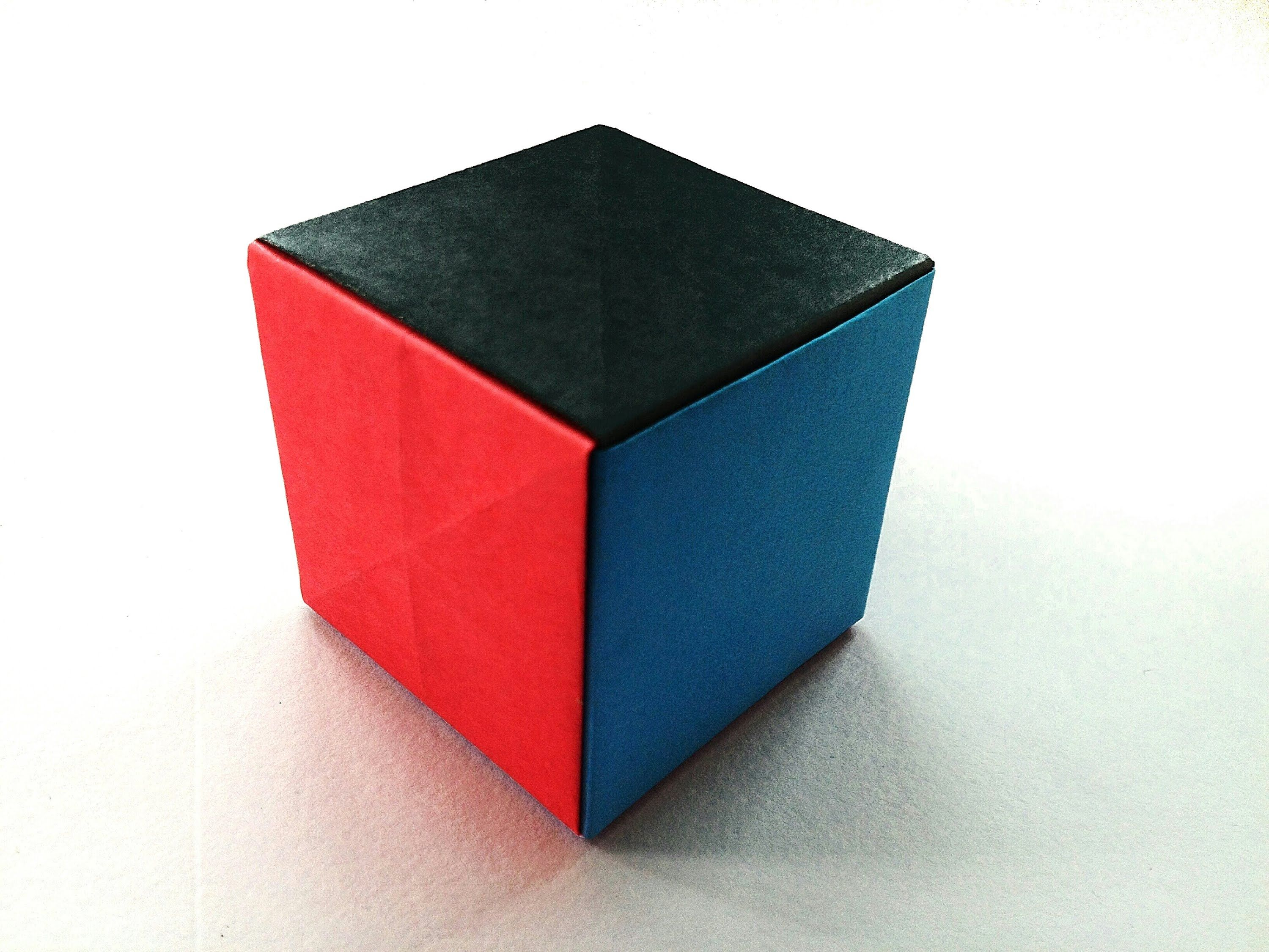 "Modular Origami - ""Simple Paper Cube"" - Very easy, anyone ... - photo#32"