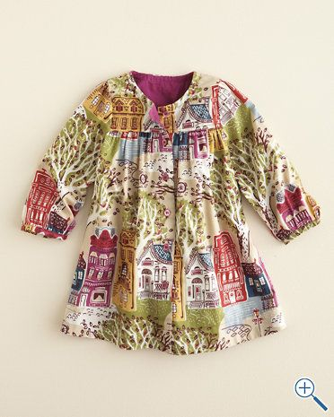 About Town Dress by Pink Chicken for Little Girls