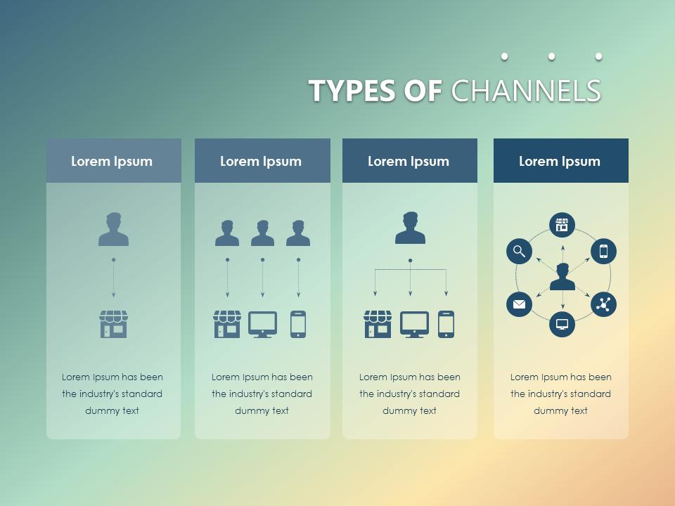 OmniChannel Marketing Slide Powerpoint Presentationdesign