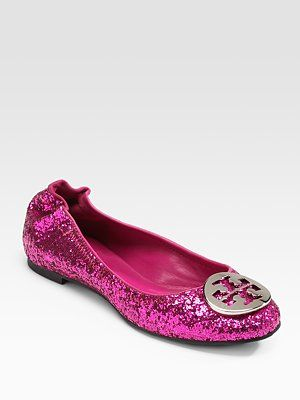 f7ff0c305468 Tory Burch Pink Glitter Reva - do these really exist  Want ...