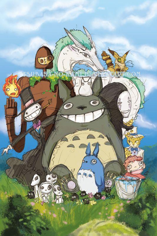 Studio Ghibli Studio Ghibli Estudio Ghibli Ghibli
