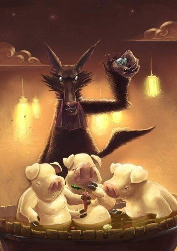 los tres cerditos