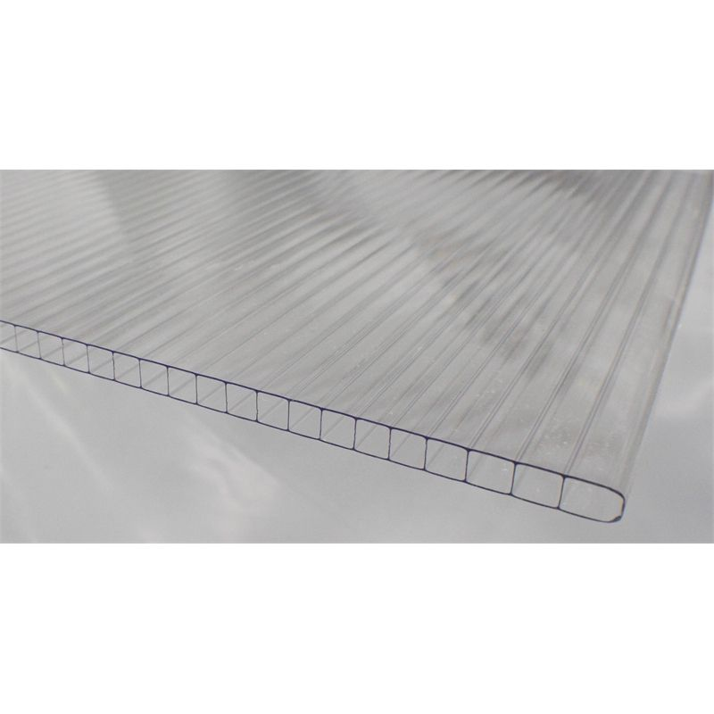 Sunlite 10mm Twinwall X 3 0m Clear Polycarbonate Roofing