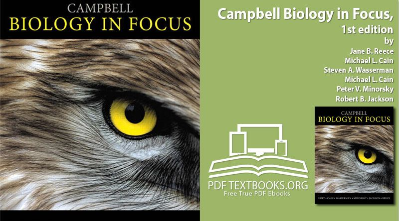 Campbell Biology In Focus PDF Free Download By Reece Cain