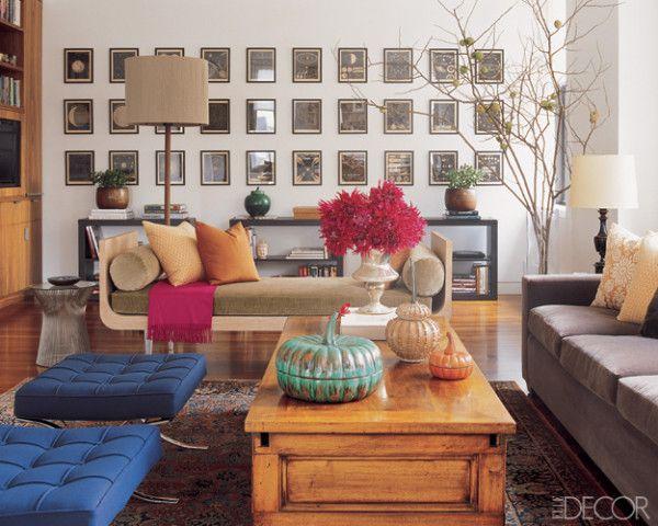The 6 Best Decorating Tricks For Your Rental If You Can T Paint Salas Contemporaneas Apartamentos Modernos Elle Decoracion