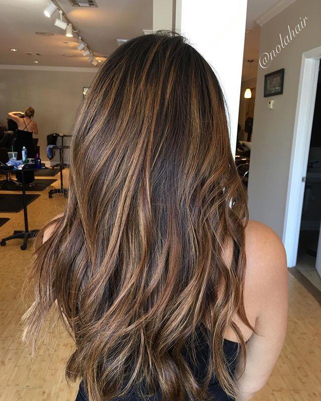 Balayage Dimension Hair Haircolor Hairpainting Highlights Lowlights Healthyhair Hair Highlights Brunette Hair Color Hair Styles
