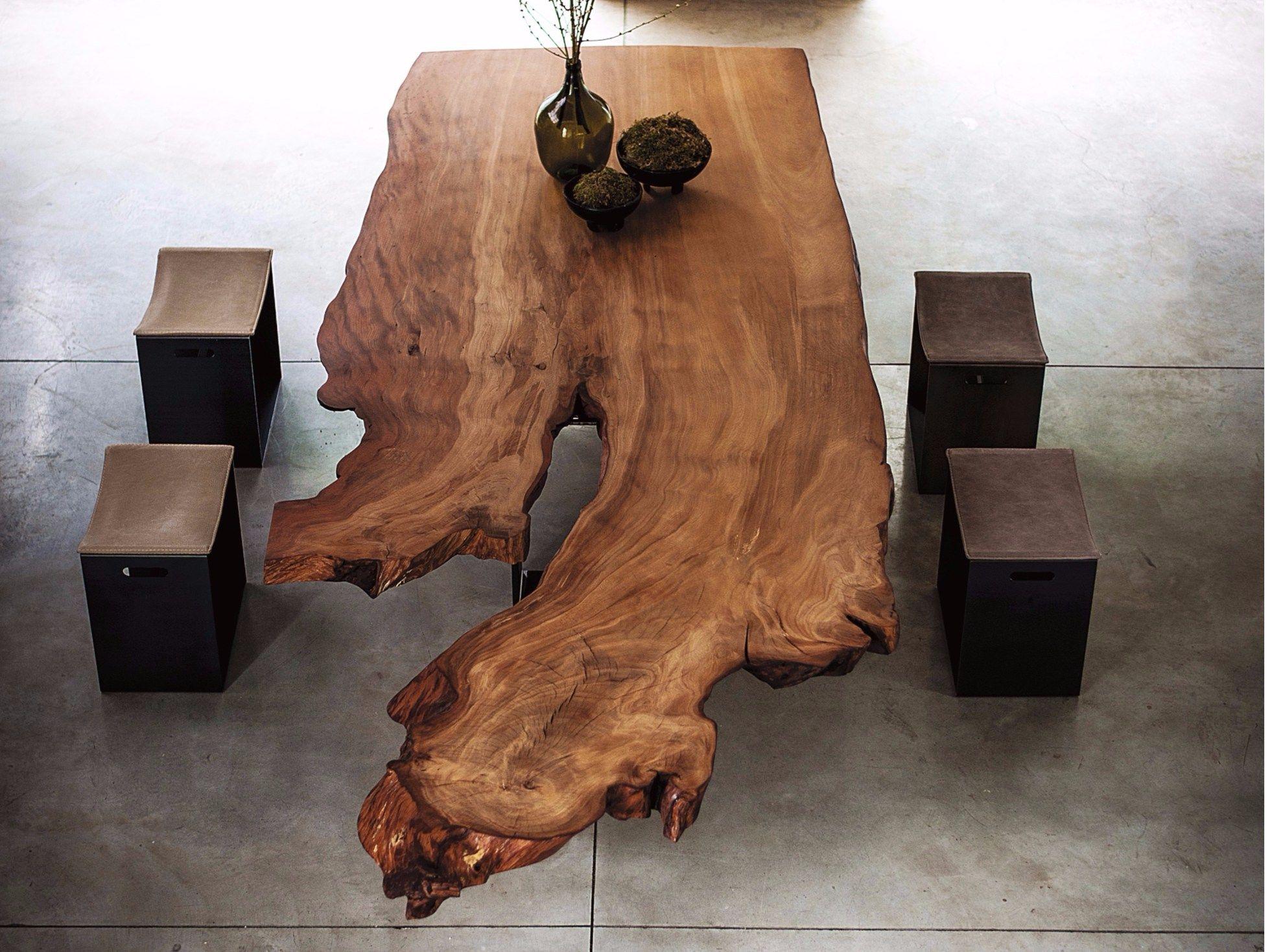 Tavolo in legno Kauri NEWTON KAURI by Riva 1920 | Tavoli in ...