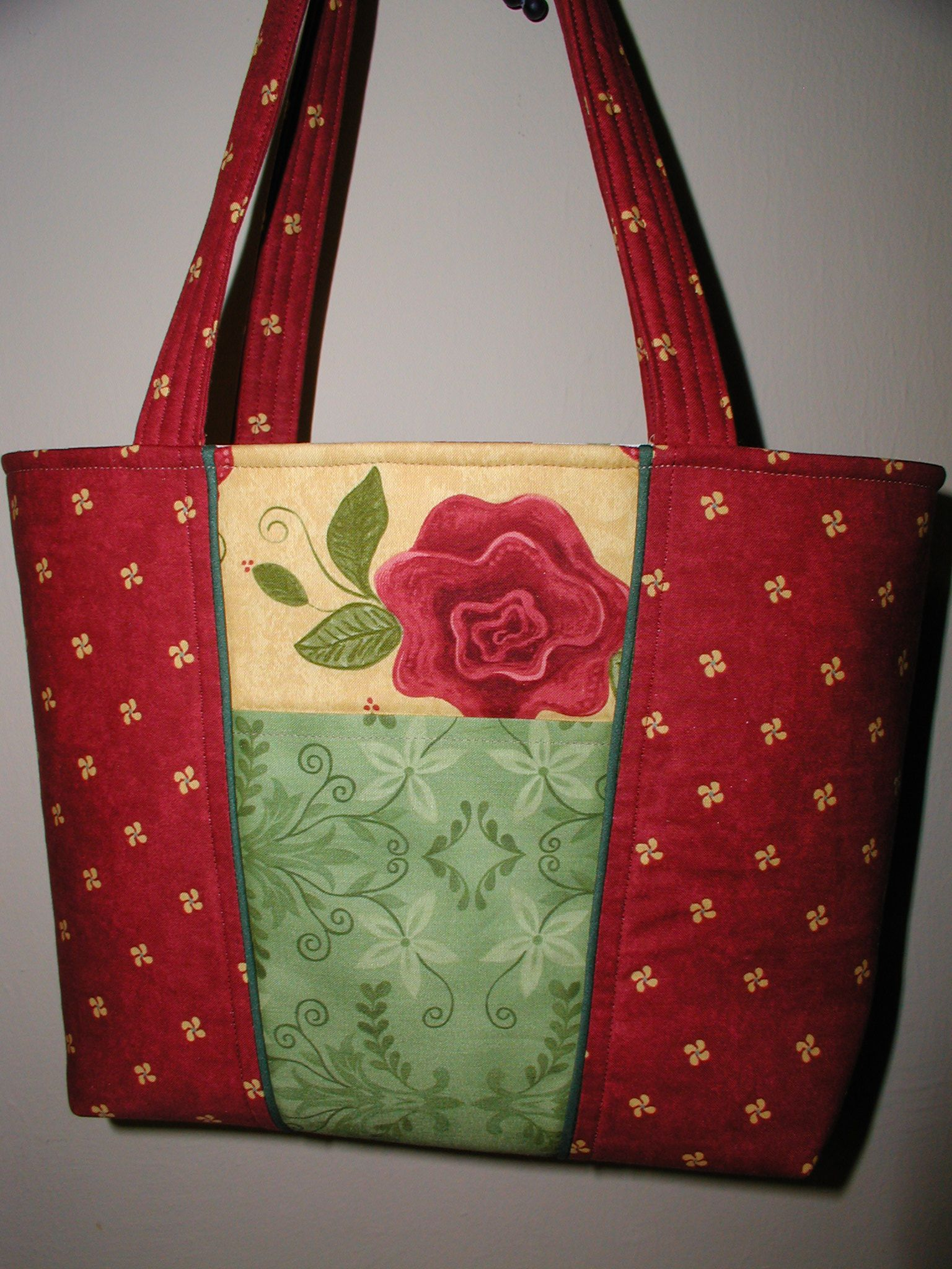 Pattern: Claire Handbag by Lazy Girl Designs
