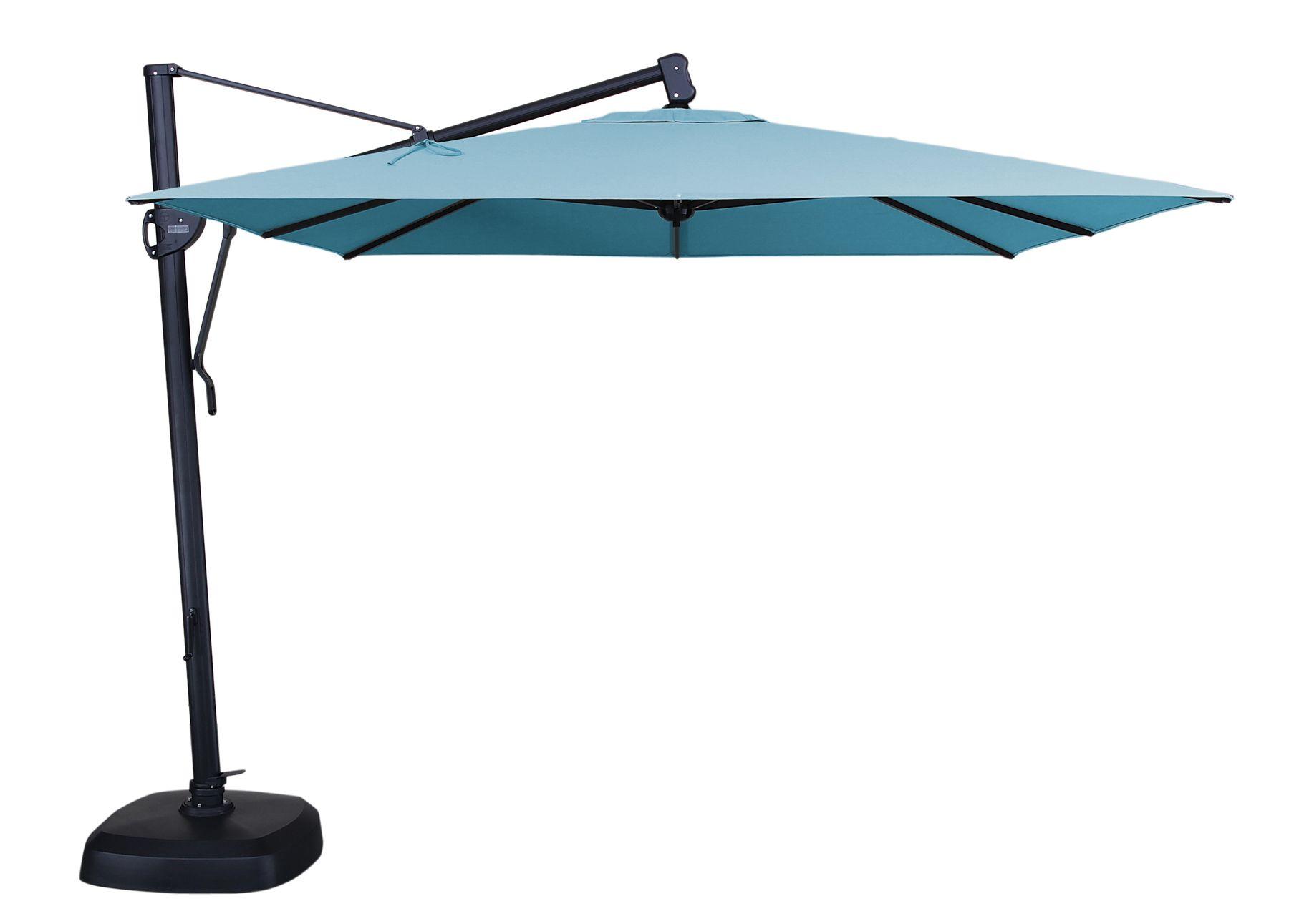 Akzsq 10 Cantilever Umbrella By Treasure Garden Cantilever Patio Umbrella Patio Umbrella Patio