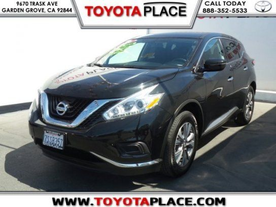 Sport Utility, 2016 Nissan Murano S With 4 Door In Garden Grove, CA (