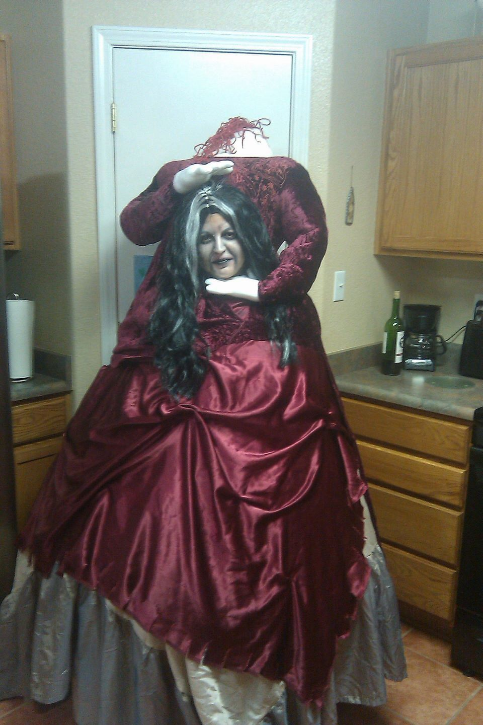Headless Halloween costume! Cost me $20 to make in about 4 hours ...