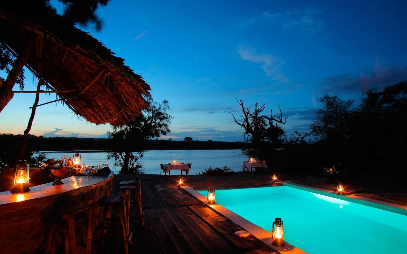 The Retreat, Selous Game Reserve Outdoor retreat, Resort