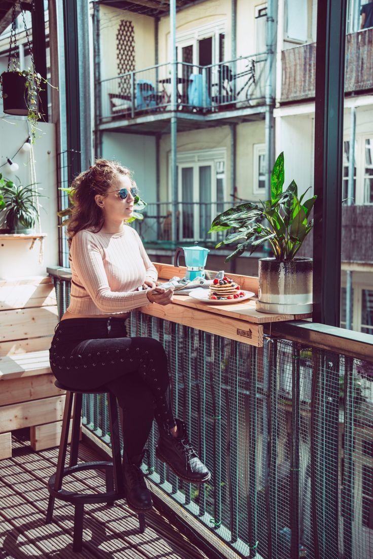 Balkon Inspiration-Balkonbar  Liana Hatamian #balconybar