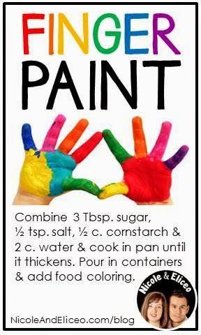 Teacher Tip: DIY Finger Paint Recipe