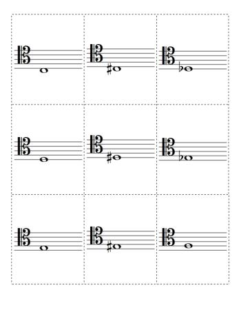 Pin by Vilate Thacker on School- Music | Clef, Teaching