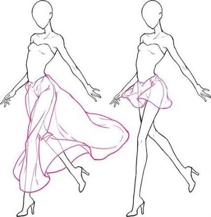 Photo of 17+ ideas for skirt tutorial drawing fashion sketches