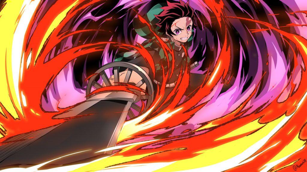 Best Demon Slayer Tanjiro Kamado HD Wallpaper 2020 trong