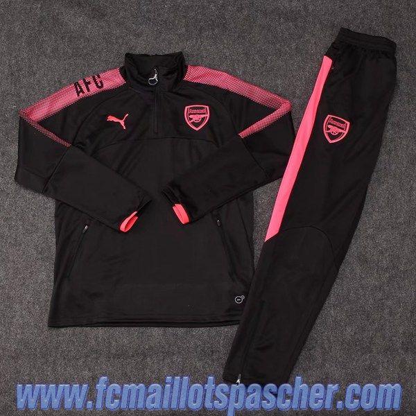 survetement Arsenal noir