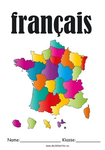 Deckblatt Francais Schule School Und Logos