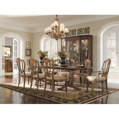 Universal Furniture Kentwood Dining Room Set From Dining Rooms Direct.