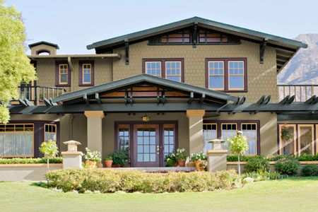 Paint Color Ideas For Craftsman Houses