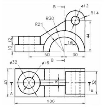 how to read 2d cad drawings