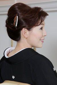 結婚式 新郎 新婦のお母さまの為の髪型カタログ らしさ Rasysa