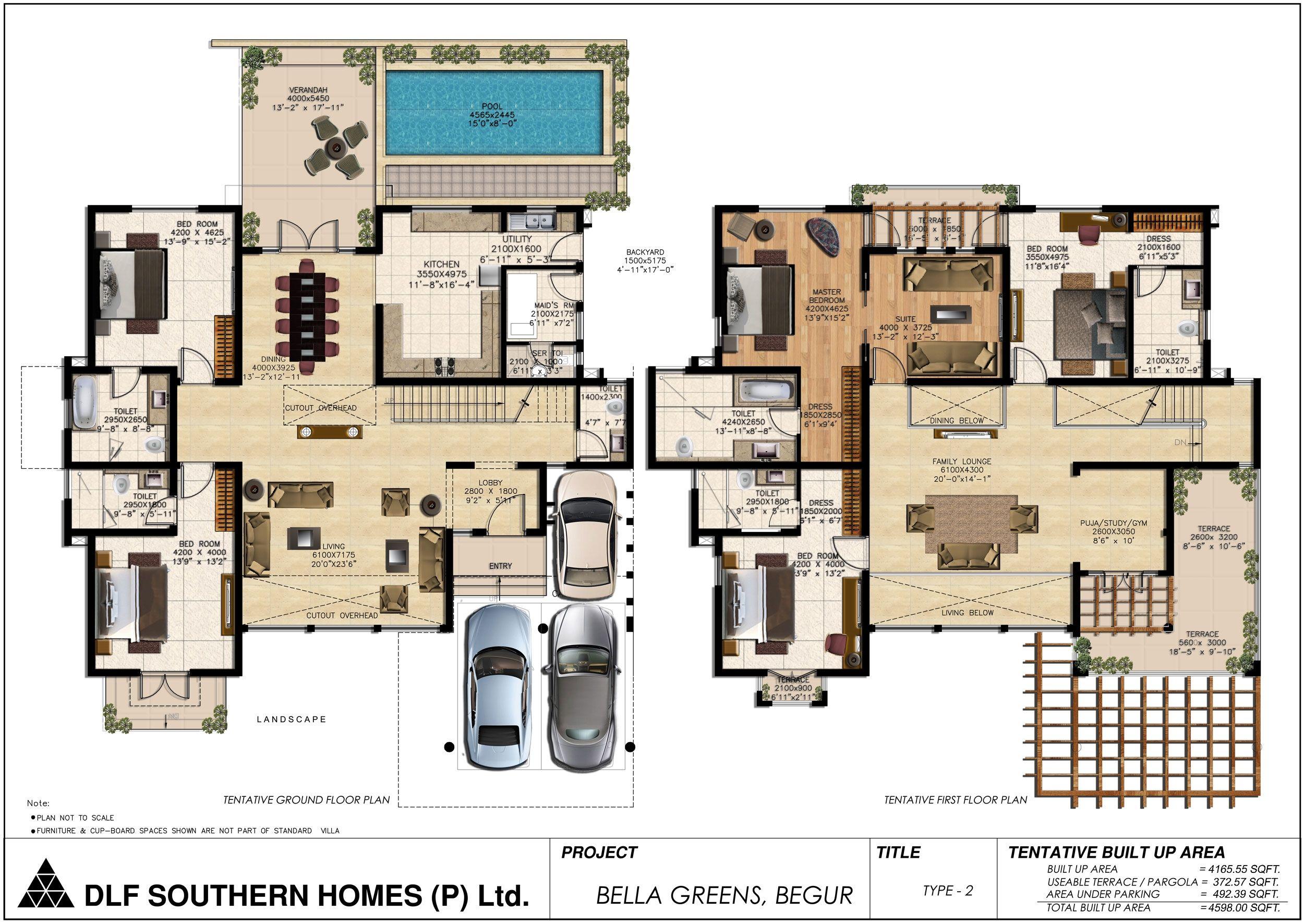 Luxury House Floor Plans With Pictures Denah Rumah Ide Dekorasi Rumah Desain Rumah