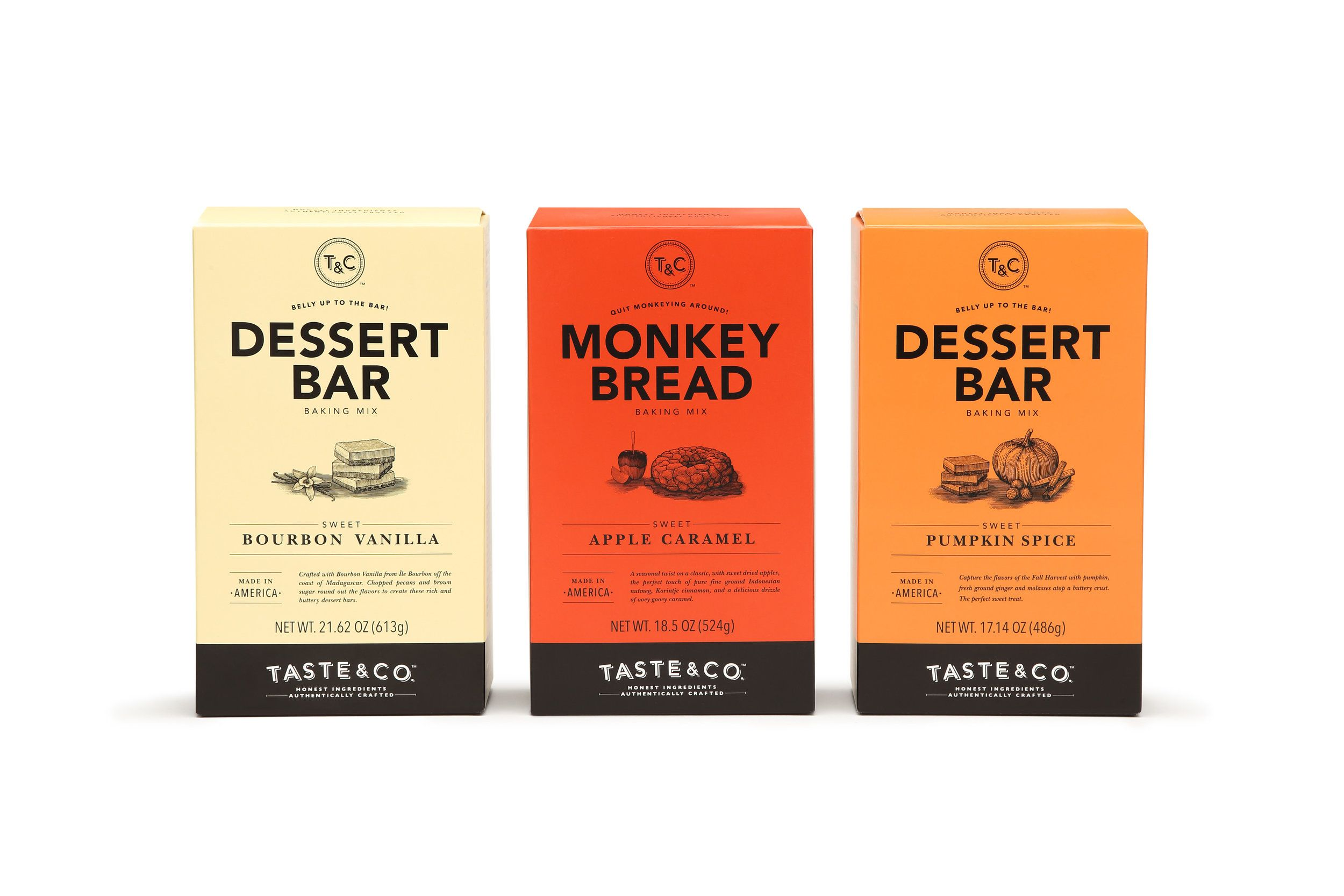 Taste And Co Is Designed With A Handcrafted Feeling In Mind Packaging Design Inspiration Modern Packaging Packaging Design