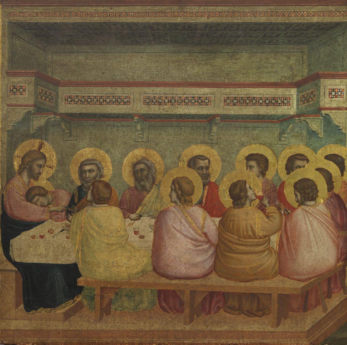 Pin Von Elenajakovlevna - Auf . Giotto Pinakothek Munich Und