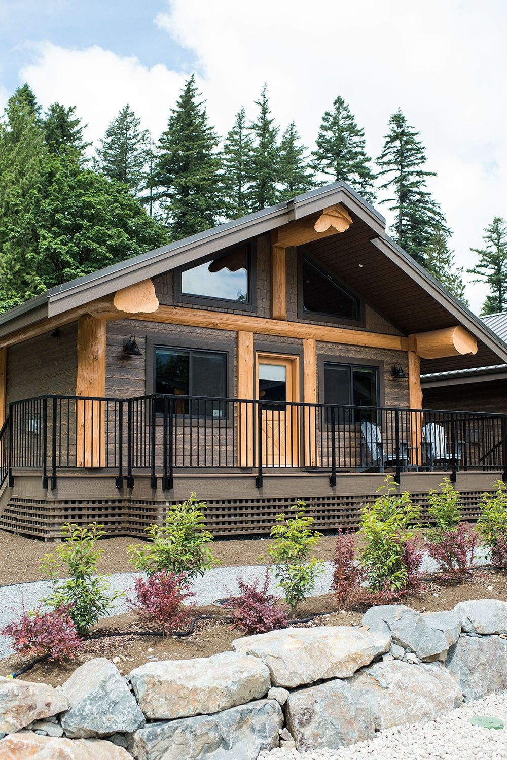 Raven Osprey And Eagle 2 Bedroom Cabins In 2020 Cabin Luxury Cabin House Styles