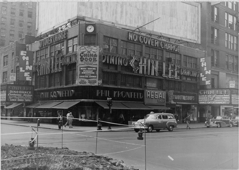 Chin Lee Chinese Restaurant And Nightclub Broadway At W49th Street Dance Entertainment No Cover Charge Places In New York Old Photos Nyc
