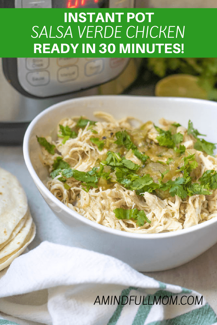 "Photo of Easy Instant Pot Salsa Chicken | A Mind ""Full"" Mom"