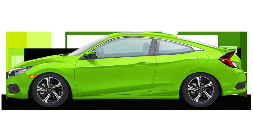 Civic Color Verde Audaz Diseño deportivo, Honda civic