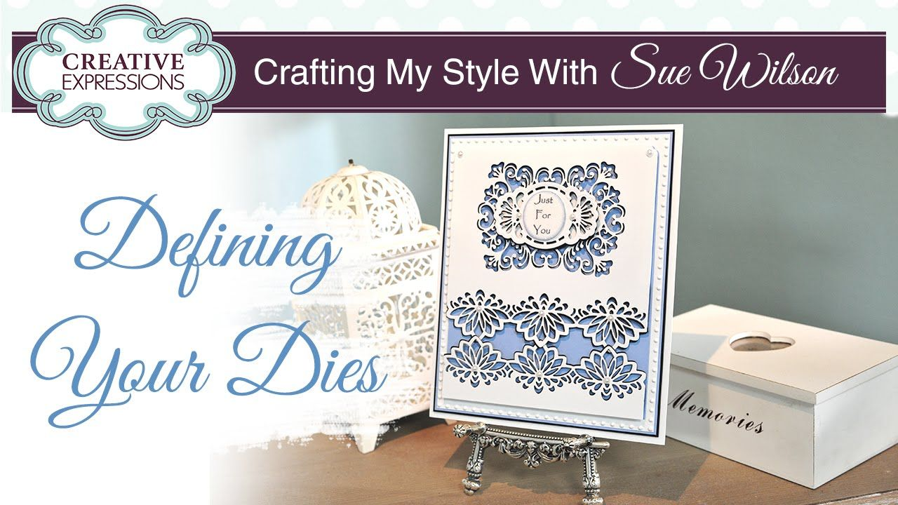 How To Create a Shadow Effect on Your Dies | Crafting My Style with Sue ...