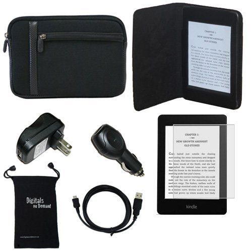 DigitalsOnDemand 7-Item Accessory Bundle for Amazon Kindle